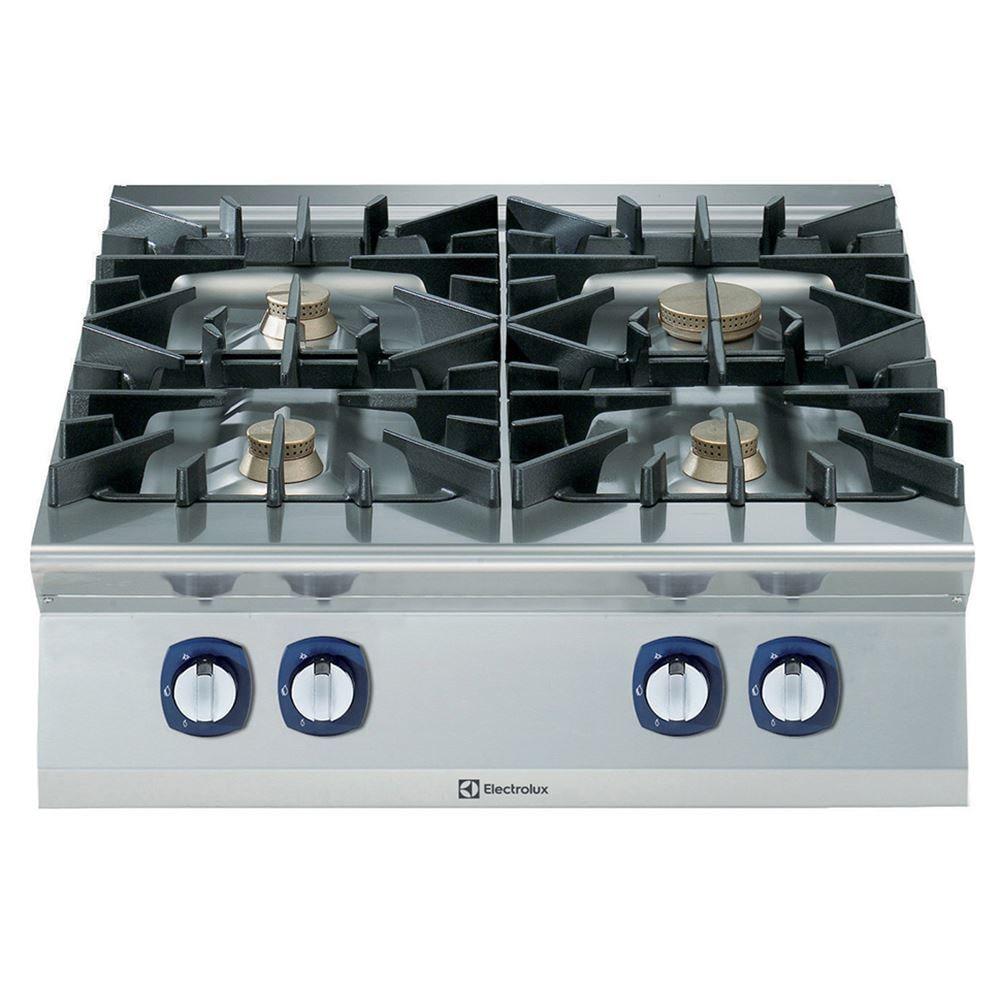 Cucina gas top 4 fuochi Electrolux - Dimensioni 800x930x250 mm - CB ...