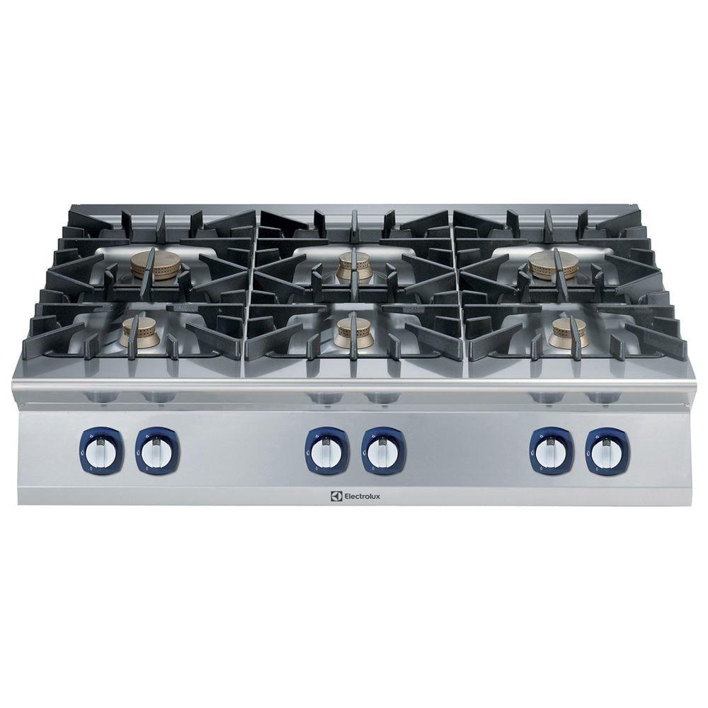 Cucina gas top 6 fuochi Electrolux - Dimensioni 1200x930x250 mm - CB ...